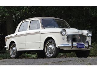 1959 Fiat 1100; reminds me of Granny's old Metropolitan