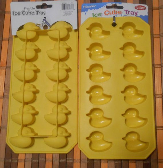 Retro Rubber Ducky Ice Trays Candy Molds Soap by ZoeysRusticPlace, $5.00