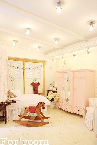 Cherry blossom interior studio by For'room. South Korea.