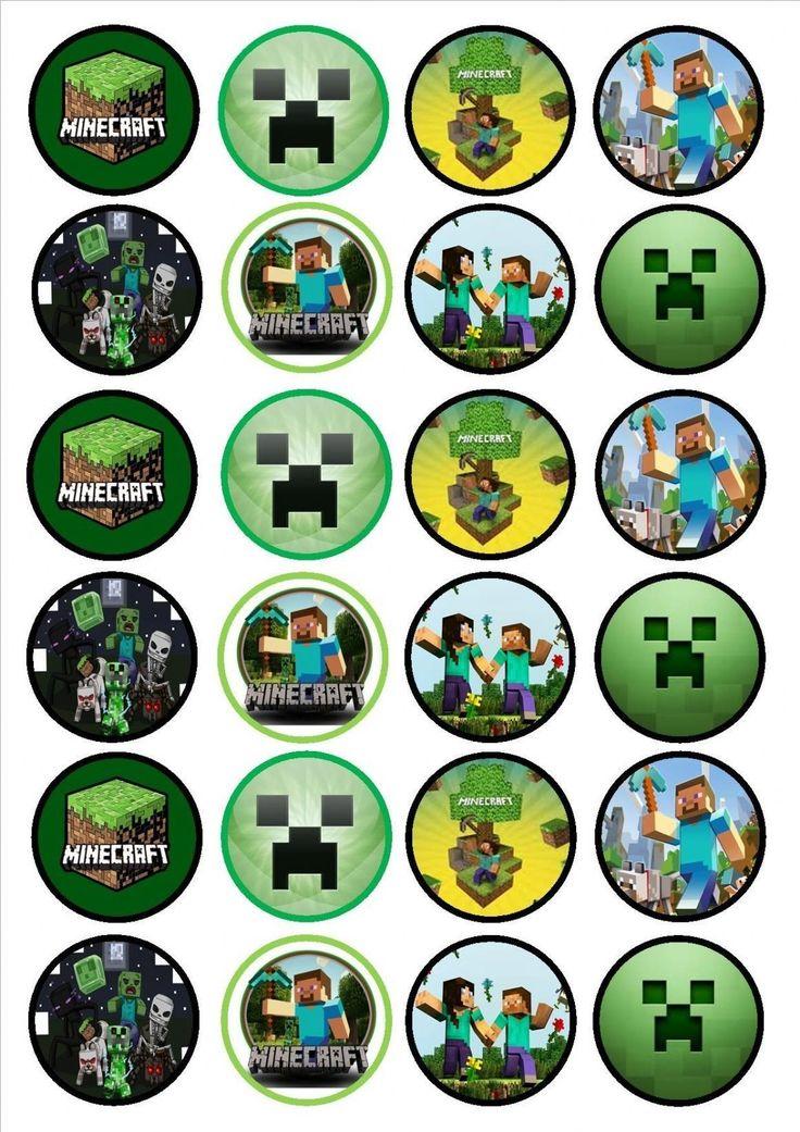Minecraft Geburtstagstorte Topper Elegant Minecraft Geburtstagstorte Topper …   – Party