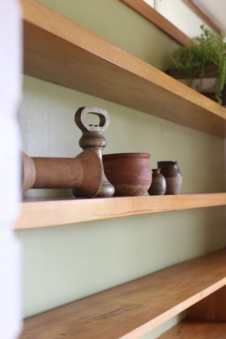 #shelfie #vignette #pottery #styling by #placesandgraces