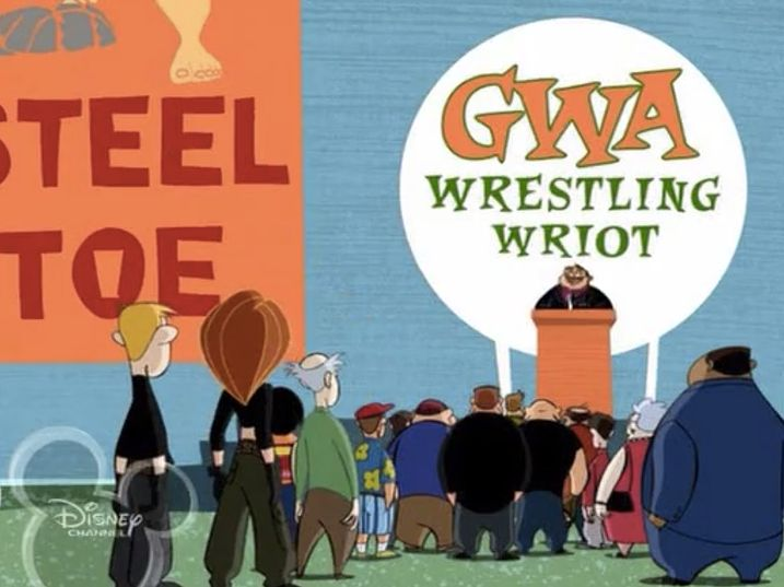Kim Possible - Pain King vs. Cleopatra review is up #KimPossible #RonStoppable #DisneyChannel #BeckyLynch #WillFriedle #Cartoon #Animation #WrestlingEpisode #PainKing #Goldberg #SteelToe #Test #WCW #WWE #WWF #NXT #Wrestlers