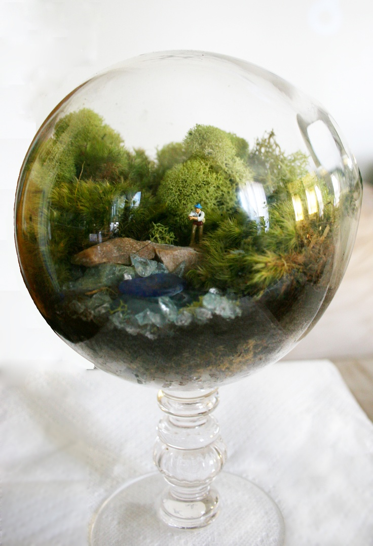 I Heart Terrariums. This One Is Seriously A Work Of Art. (from Twig Part 58