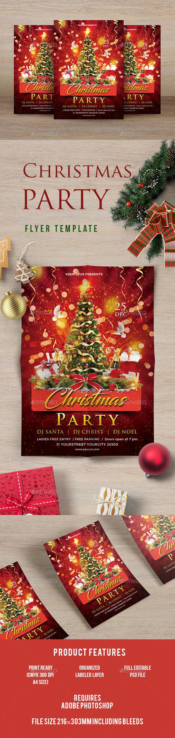 best images about christmas flyer templates christmas party psd xmaschristmas flyer templatesevents
