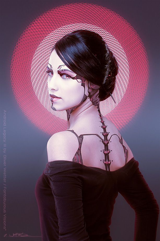 Android Legacy Series by Oliver Wetter at Coroflot.com