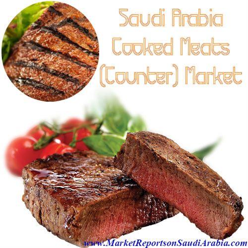 #CookedMeats Counter Market in #SaudiArabia