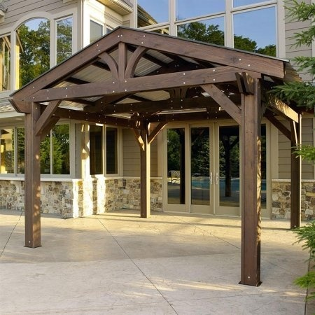 13 best pergolas and bed swings images on pinterest bed for 14x14 deck plans