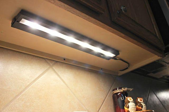easy under cabinet lighting and a secret on off switch products i love pi. Black Bedroom Furniture Sets. Home Design Ideas