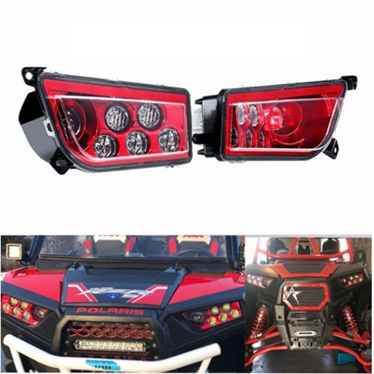 149.08$  Buy now - For 14-17 POLARIS RZR XP 1000 & TURBO -VELOCITY LED HEADLIGHTS KIT  #buymethat