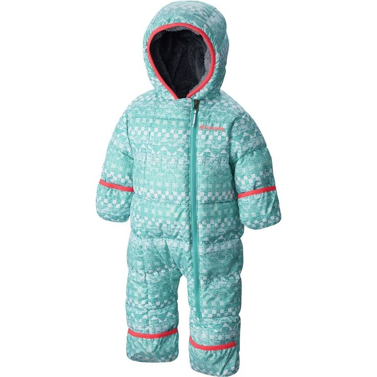 Columbia Baby Girls' Frosty Freeze Bunting, Miami Fair Isle, 18-24 Months