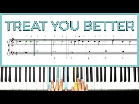 How To Play Treat You Better By Shawn Mendes On The Piano Playground Sessions Youtube Tears In Heaven Songs Youtube Playlist