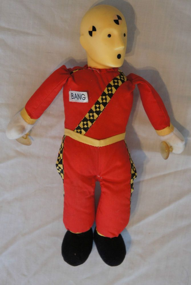 17 best crash test dummies images on pinterest crash test play by play 1992 stuffed plush red yellow bang crash test dummy doll toy ccuart Choice Image