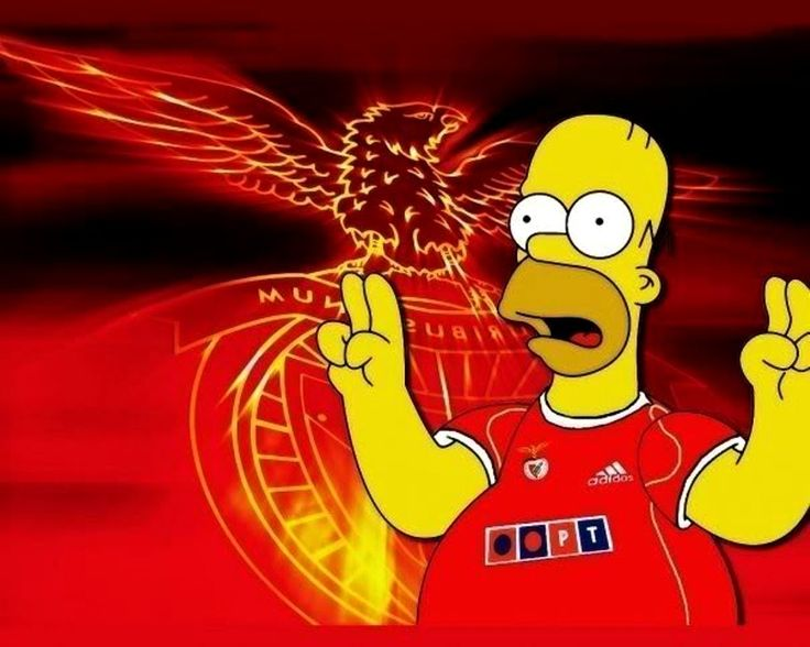 Wallpaper Simpson - Benfica