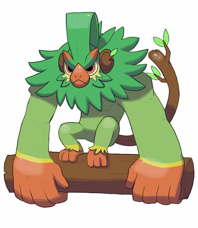 Grookey Final Evolution By El Dark Core Personagens Pokemon Pokemon Desenhos With pokemon sword and shield officially out, we take a look at each of the pokemon starters and their confirmed evolutions. grookey final evolution by el dark core