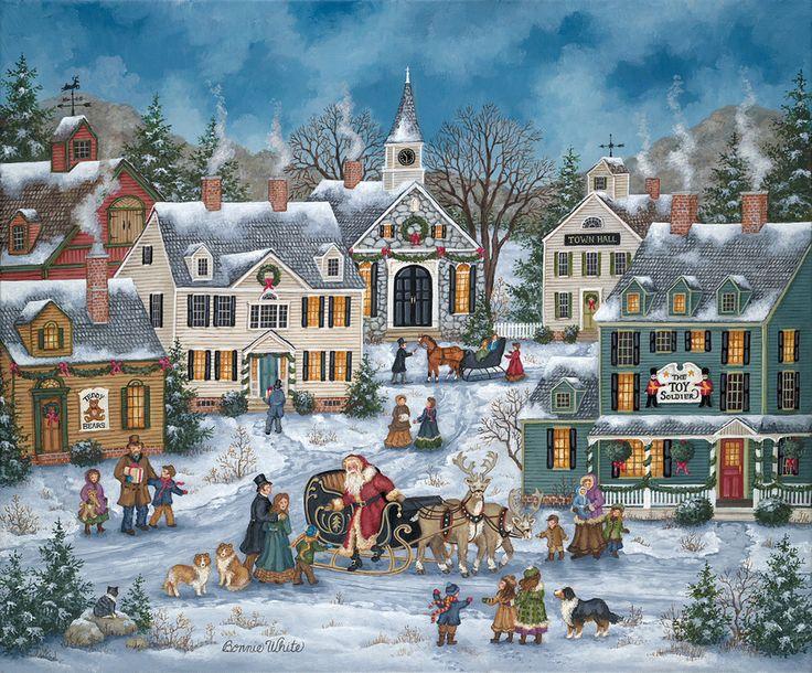 143 best Bonnie White Artist images on Pinterest | Folk art ...