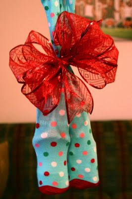 Christmas Stocking Exchange. Help keep the Christmas budget on track with some fun and inexpensive gifts in a fun pair of socks.