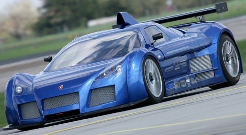 The Gumpert Apollo S is powered by a 4.2 litre Audi V8 engine