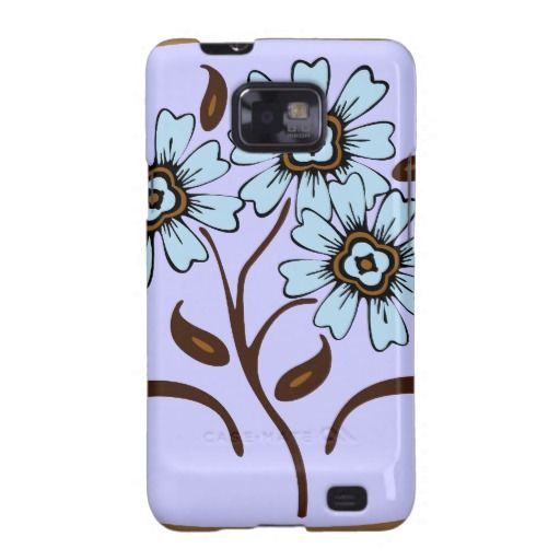 Vintage floral ornaments galaxy SII cover