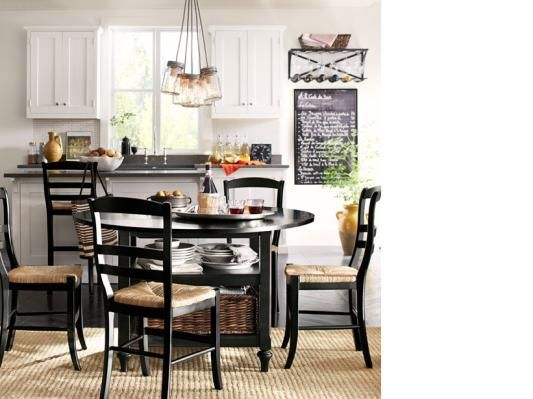 **1** Great Idea: A Double Purpose Dining Table** Room. Kitchen Design  GalleryKitchen DesignsPottery Barn ... Part 82