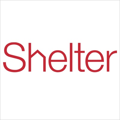 The logo for Shelter: the housing and homeless charity, logo is simple yet effective in my eyes because its just one word which gets straight to the point with a small addition of the 'h' in shelter being changed into a home to signify a shelter for someone.