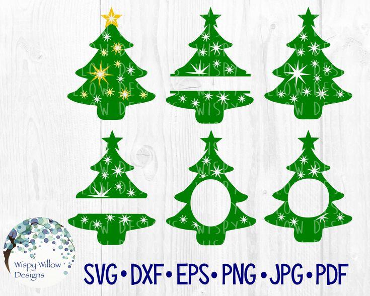 Download Christmas Tree Bundle SVG, dxf, png, eps, jpg, Winter ...