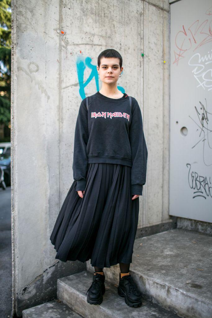 Street style at Milan Design Week 2017
