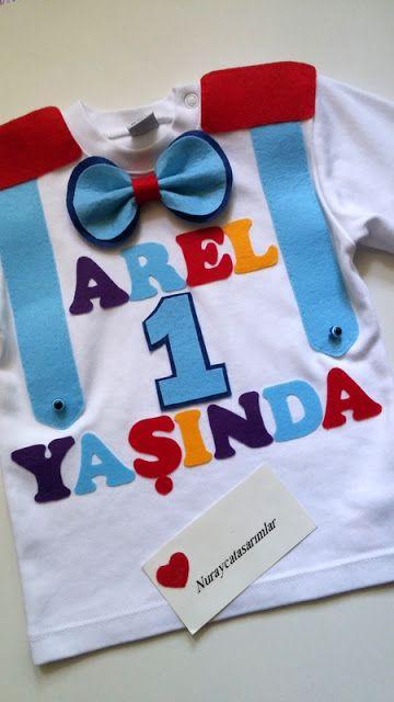 Nuraycatasarımlar: Doğum Günü Partisi İçin Sweatshirt