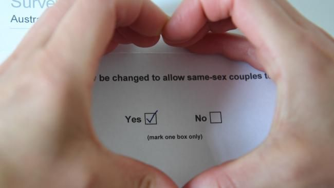 Same sex vote tops 10 million  ||  WITH less than a month to go more than 10 million Australians have cast their votes in the $122 million same-sex marriage postal vote. http://www.news.com.au/lifestyle/gay-marriage/samesex-marriage-update-survey-tops-10-million-aussie-votes/news-story/7208baa8fe6de94ca13c2bf8e8eb15e0?utm_campaign=crowdfire&utm_content=crowdfire&utm_medium=social&utm_source=pinterest