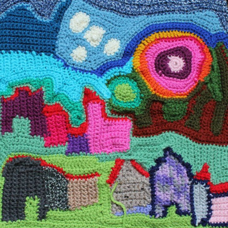 crochet 30x30 cm  made by christie greeve 2013