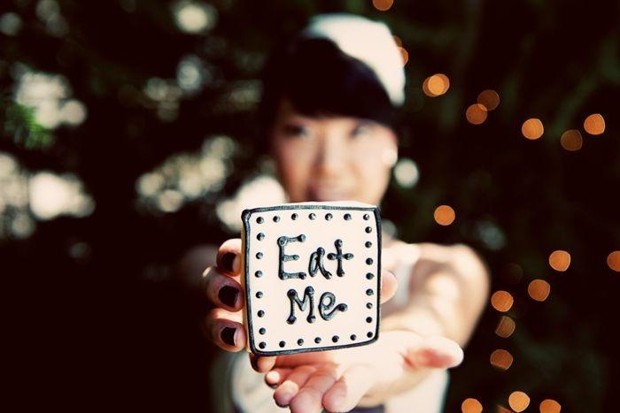 Eat Me: Sugar Cookies, Food Style, Cookies Eating, Alice In Wonderland, Creative Cookies, Prom Theme, Events Inspiration, Cookies Galleries, Wonderland Inspiration
