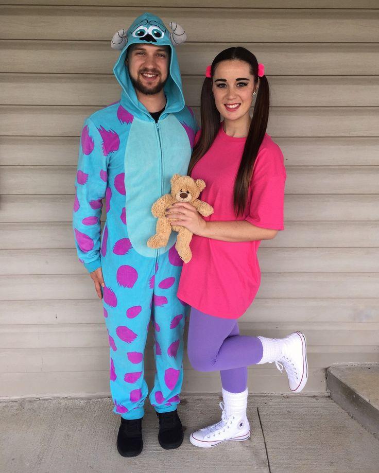 Sully and Boo    Couple Halloween Costume #SullyandBoo #MonstersInc #Disney #Halloween #CoupleCostume