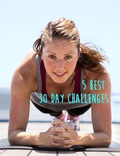 Défi 30 jours : les 5 meilleurs défis pour un corps bien tonique !  Fixez-vous un challenge fitness.