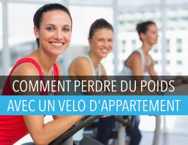 Perdre du poids avec un velo d'appartement