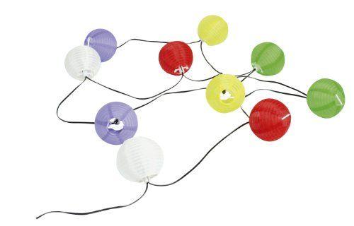 Features  Luces con células solares y 10 linternas chinas en diferentes colores Diámetro de las linternas: 7 cm Longitud del cable: 4 m Con 10 luces LED blancas Batería recargable: 1.2V / 600mAh   http://comprarlinternaled.com/carga/solar/solarline-403166-guirnalda-con-panel-solar-incluye-10-farolillos-de-varios-colores/