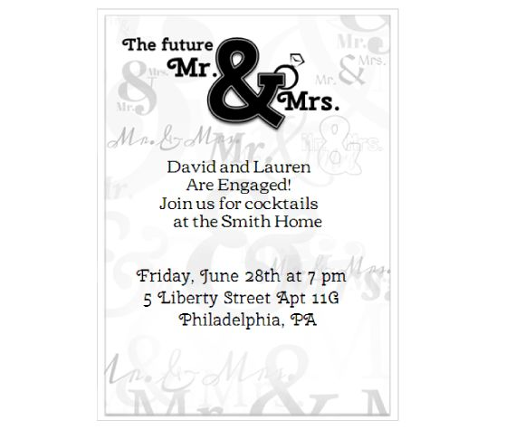 Mr and Mrs Moore Invite you to the Wedding of Chelsy