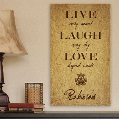 14 best Personalized Christian Wall Art images on Pinterest | Custom ...