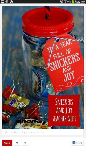 Cute end of the year gifts for teachers!