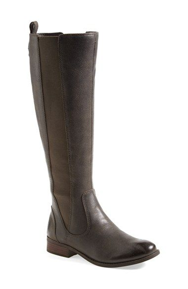 Free shipping and returns on Jessica Simpson 'Radforde' Riding Boot (Women)(Wide Calf) at Nordstrom.com. Smooth leather riding boots are traced by elastic panels that ensure a perfect fit. Greytastic, 8.
