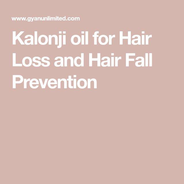 Kalonji oil for Hair Loss and Hair Fall Prevention
