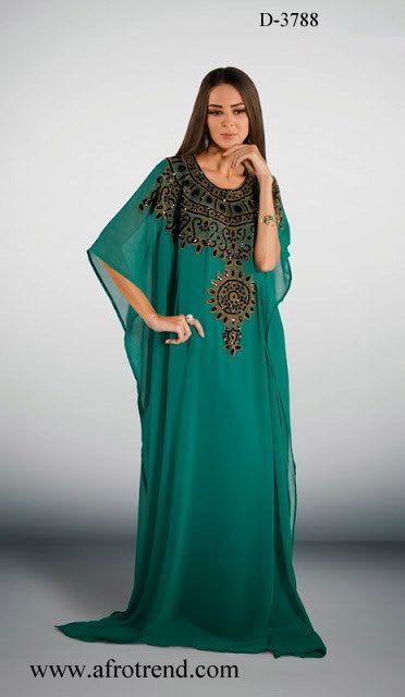 Very elegant dubai kaftan Abaya khaleeji jalabiya by AFROTRENDS, $114.99