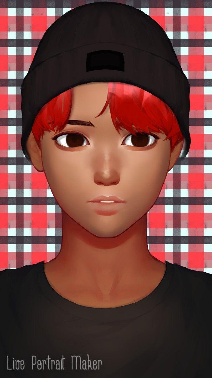 Live portrait maker shawn anime art portrait