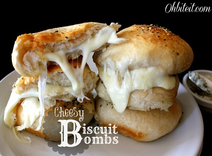Made these Cheesy Biscuit Bombs today and they did not disappoint!!