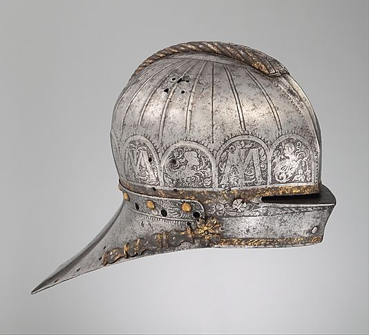 Tournament Sallet Made for Louis II, King of Hungary and Bohemia. Date: ca. 1525 Culture: German, Augsburg