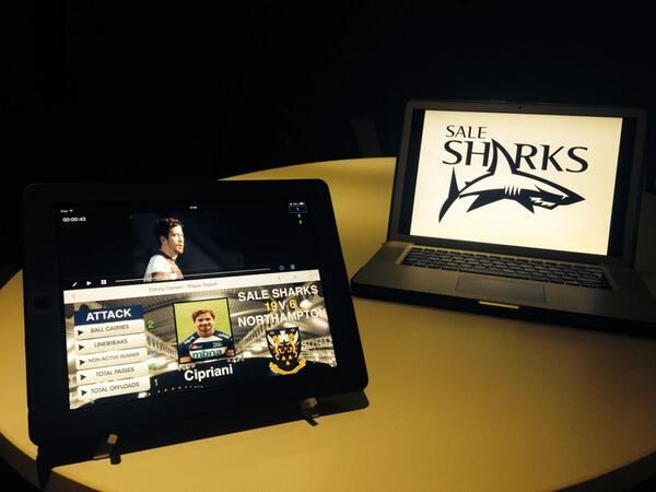 Sale Sharks performance analysis solution for 2014. Staying ahead of the game with Sportstec Player and SportsCode.