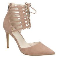 - La Strada 909441 roze hoge hakken pumps