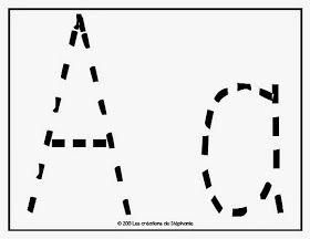 Les créations de Stéphanie: L'apprentissage de l'alphabet ~ 15 idées d'ateliers