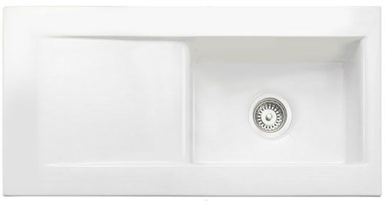 Bluci Vecchio DS2 1.0 Bowl Ceramic Sink