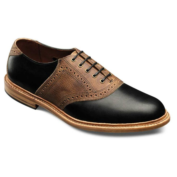 Finch - Plain-toe Saddle Lace-up Mens Dress Shoes by Allen Edmonds