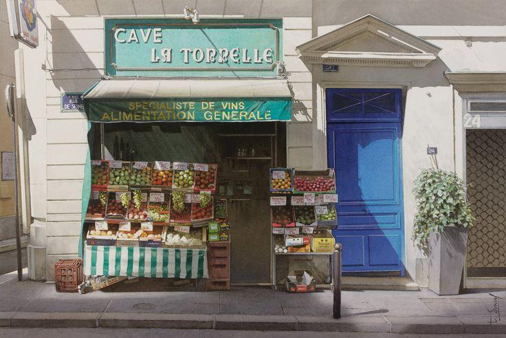 Thierry Duval - Aquarelles de Paris