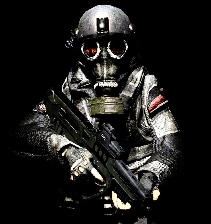 Fear the Gas Mask by LordHayabusa357 on DeviantArt